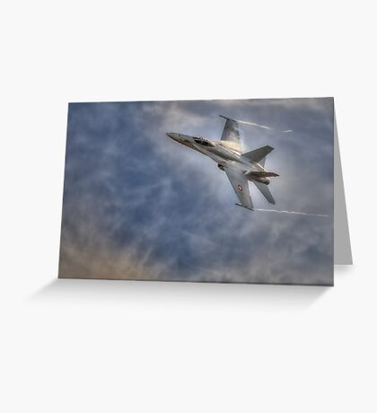 FA-18 Hornet - Swiss Air Force Greeting Card