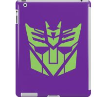 Deceptibot icon  iPad Case/Skin