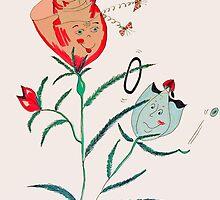 Flowing friendships by IrisGelbart