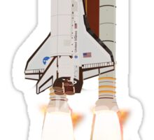 Space Shuttle 1981-2011 Sticker