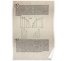 Measurement With Compass Line Leveling Albrecht Dürer or Durer 1525 0047 Arc Segmentation Poster