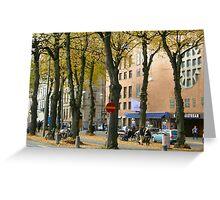Streetview gothenburg Greeting Card