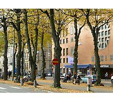 Streetview gothenburg Photographic Print