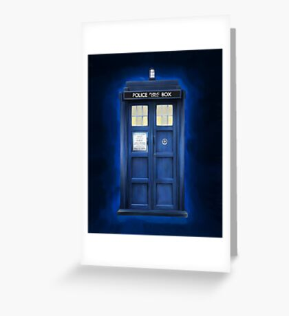 Tardis II Greeting Card