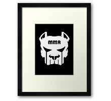 MMA FIGHTING  Framed Print