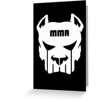 MMA FIGHTING  Greeting Card