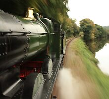 GWR 0-6-0 Steam Train by Mark Bird