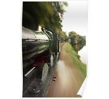 GWR 0-6-0 Steam Train Poster