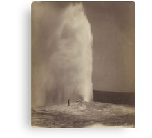 Yellowstone - Old Faithful  Canvas Print