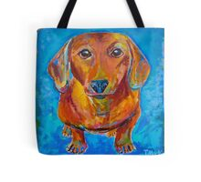 Foxy Doxie Tote Bag