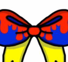 Snow White Bow Sticker