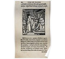 Contemplation Life and Passion Our Lord Jesus Christ Albrecht Durer 1557 0066 Poster