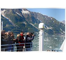 Photog Action - Hubbard Glacier Poster
