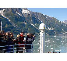 Photog Action - Hubbard Glacier Photographic Print