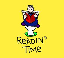 *Readin' Time (yellow background for liz) by Margaret Bryant