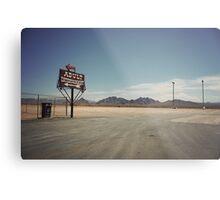 8000 miles USA : Nevada1 Metal Print