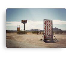 8000 miles USA : On the road 2 Metal Print