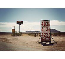 8000 miles USA : On the road 2 Photographic Print