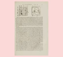 Famous Painter Parts Human Body Symmetry Four Books Geomety 1557 Albrecht Durer 0175 Heads Baby Tee