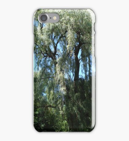 Willow trees iPhone Case/Skin