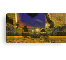 Tanya N. Plaza at Sunset. Canvas Print