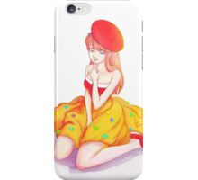 dessert girl iPhone Case/Skin
