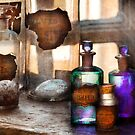 Apothecary - Oleum Rosmarini  by Mike  Savad