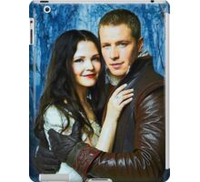Snow and Charming Comic Poster Logoless Design 2 iPad Case/Skin