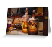 Apothecary - Magic Elixir  Greeting Card