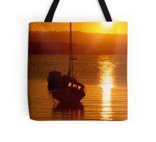 Skerries Harbour October Sunset  Tote Bag