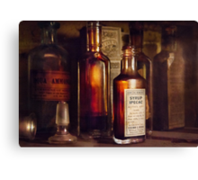 Apothecary - Domestic Remedies  Canvas Print
