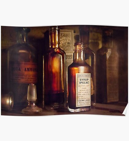 Apothecary - Domestic Remedies  Poster