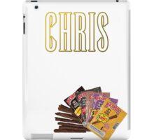 CHRIS TRAVIS iPad Case/Skin