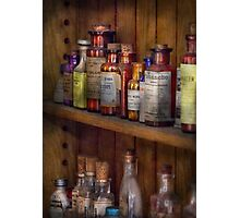 Apothecary - Inside the Medicine Cabinet  Photographic Print