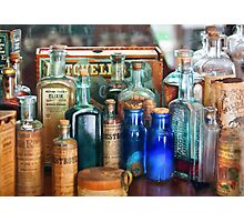 Apothecary - Remedies for the Fits Photographic Print