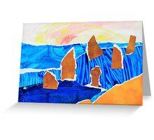 12 Apostles #1 Greeting Card