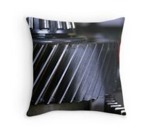 Gears Throw Pillow