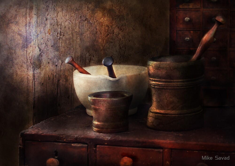 Apothecary - Pick a Pestle  by Mike  Savad