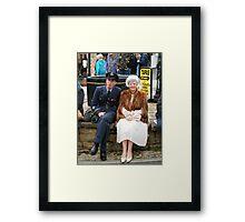 War Weekend at Pickering UK 4 Framed Print
