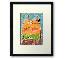 Tram Framed Print