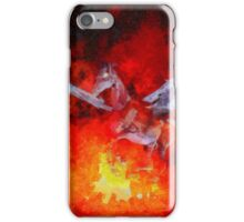 Satans Ride by Sarah Kirk iPhone Case/Skin