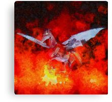 Satans Ride by Sarah Kirk Canvas Print