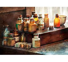 Apothecary - Chemical Ingredients  Photographic Print