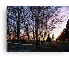 Boundary Between Life and Death Canvas Print
