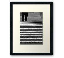 Path To The Past Framed Print