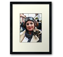 War Weekend at Pickering UK 6 Framed Print