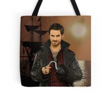 "Captain Hook Comic Poster ""Sunset"" Logoless Design Tote Bag"