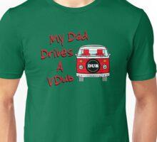 My Dad Drives a VDub (Red) Unisex T-Shirt