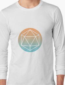 Icosahedron outline Long Sleeve T-Shirt