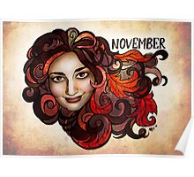 Amy of November Poster